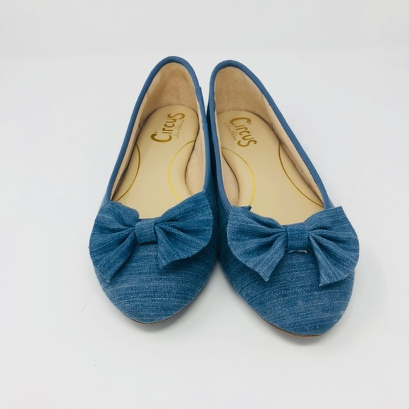 8a48600c1c8e65 Circus by Sam Edelman Shoes - 7.5 Circus By Sam Edelman Ciera Bow Ballet  Flats